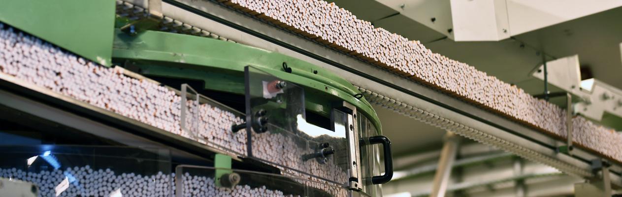 cigarette manufacturing machine